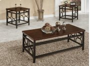3pc Wooden Coffee Table Product Image