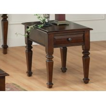 Florentino Leg End Table w/1 Drawer