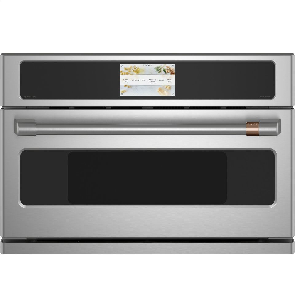 "Cafe AppliancesCafe 30"" Five In One Oven With 240v Advantium &Reg; Technology"
