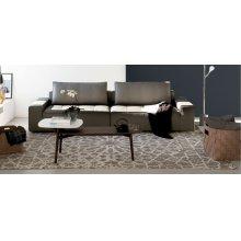 Arab-inspired rug with vintage look