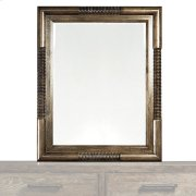 Western Brown Compass Mirror Product Image