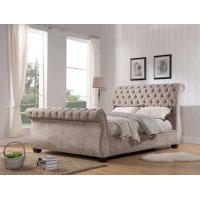 Claire Khaki Queen Bed 5/0 Product Image