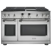 """Monogram 48"""" Dual-Fuel Professional Range with 4 Burners, Grill, and Griddle (Natural Gas)"""