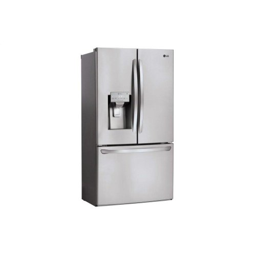26 cu. ft. Smart wi-fi Enabled French Door Refrigerator **OPEN BOX** West Location