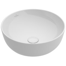 Surface-mounted Washbasin Round - Powder