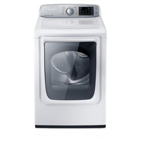 7.4 cu. ft. Capacity Electric Front Load Dryer (Neat White)
