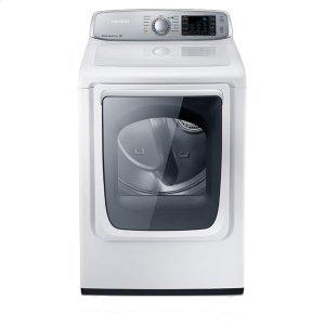 7.4 cu. ft. Capacity Electric Front Load Dryer (Neat White) Product Image
