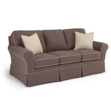 Annabel Collection S80 Stationary Sofa With Skirt