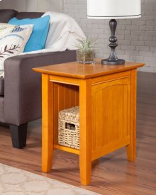 Nantucket Chair Side Table Caramel Latte