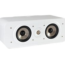 High Resolution Home Theater Center Speaker in White