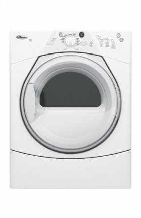 White w/ Gray Accents Duet Sport® Electric Dryer