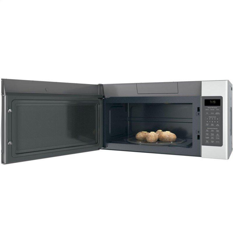 Amana 2 0 cu ft over the range microwave in white with sensor - Jnm7196skss In Stainless Steel By Ge Appliances In