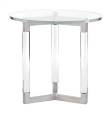 Soho Luxe Round End Table