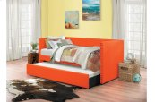 Daybed with Trundle, Blue