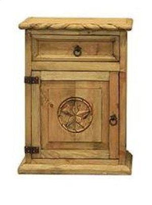 Nightstand W/Rope and Star (Left)