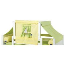 Top Tent Fabric (Twin) : Green/Soft Yellow