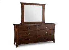 Yorkshire 6/Drawer Long Double Dresser