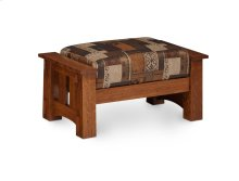 McCoy Ottoman, Fabric Cushion Seat