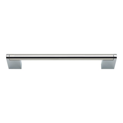 Round 3 Point Pull 6 5/16 Inch (c-c) - Polished Stainless Steel