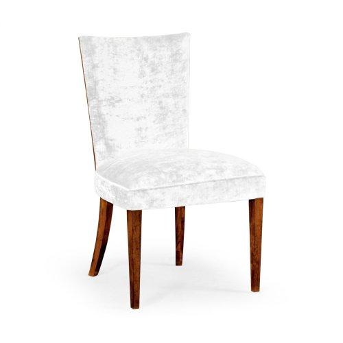 Biedermeier Style Mahogany Dining Side Chair (Truffle) with COM