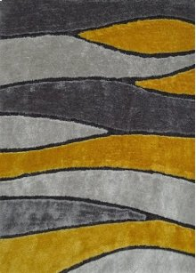 120 Gray Yellow Rug