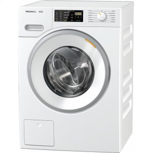 MieleWWB020 WCS W1 Classic front-loading washing machine With CapDosing for intelligent laundry care.
