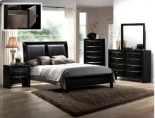 Black Emily Queen Headboard/footboa