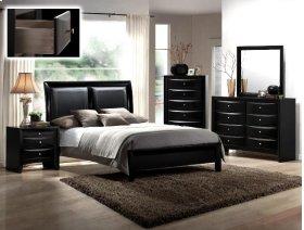 Black Emily Dresser 8 Drawers