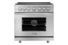 """36"""" Heritage Gas Pro Range, Silver Stainless Steel, Natural Gas Product Image"""