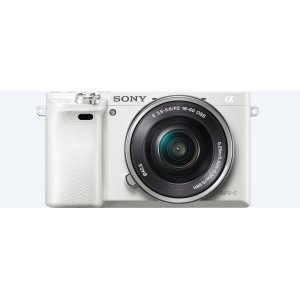 6000 E-mount camera with APS-C Sensor