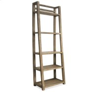 Perspectives Leaning Bookcase Sun-drenched Acacia finish Product Image