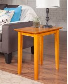 Shaker Chair Side Table Caramel Latte Product Image