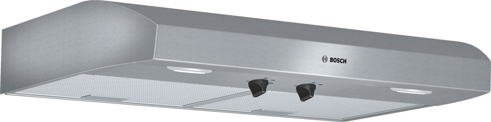 "500 Series, 30"" Under-cabinet Hood, 400 CFM, Halogen lights, Stnls