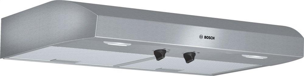 """500 Series, 30"""" Under-cabinet Hood, 400 CFM, Halogen lights, Stnls"""