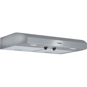 "Bosch500 Series, 30"" Under-cabinet Hood, 400 CFM, Halogen lights, Stnls"