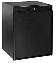 "Black Solid door, field reversible ADA Series / 24"" Refrigerator / Convection Cooling System"