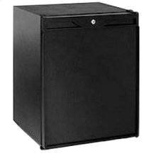 """Black Solid door, field reversible ADA Series / 24"""" Refrigerator / Convection Cooling System"""