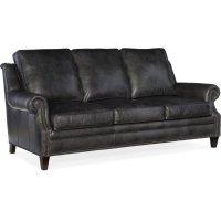 Bradington Young Roe Stationary Sofa 8-Way Tie 611-95 Product Image