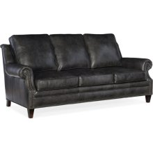 Bradington Young Roe Stationary Sofa 8-Way Tie 611-95