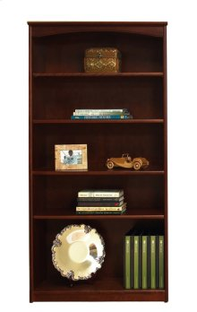 "Home Office 3 Adjustable Shelf Bookcase (30"" wide) -2 fixed shelves"