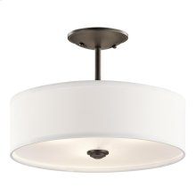 Shailene Collection Shailene 3 Light Semi Flush OZ