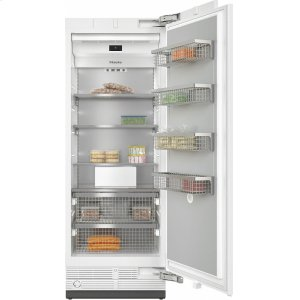 MieleF 2801 Vi MasterCool freezer For high-end design and technology on a large scale.