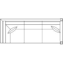 Right Facing Corner Sofa, Oak Highlands Sectional