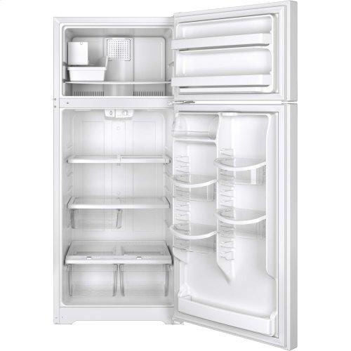 GE® ENERGY STAR® 17.6 Cu. Ft. Top-Freezer Refrigerator