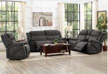 Leona Dual Recliner Sofa