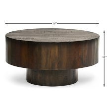 Old Barnwood Cocktail Table