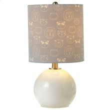 Accent Lamp with Animal Head Shade. 40W Max.