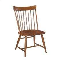 Cherry Park Side Chair Wood Seat