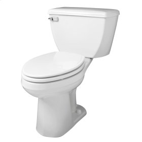 "White Ultra Flush® 1.28 Gpf 10"" Rough-in Two-piece Elongated Ergoheight Toilet"