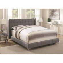 Goleta Grey Upholstered Queen Bed